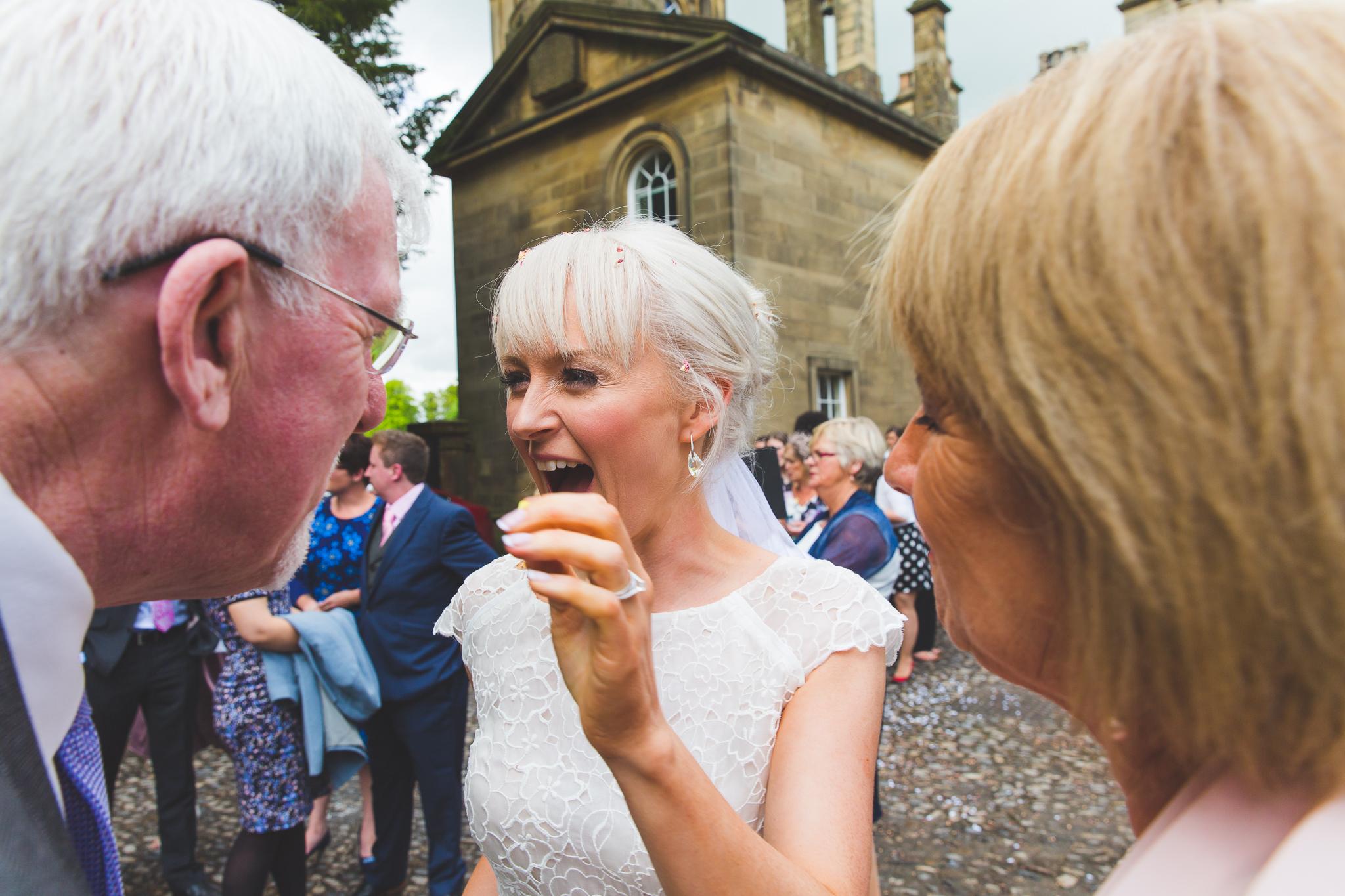 Wedding The Chapel, Broughton Hall, Skipton