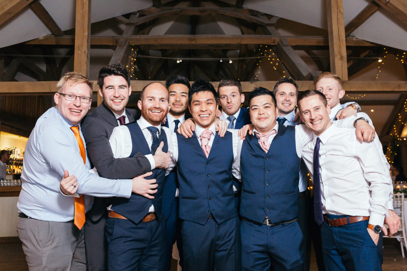 Sandburn Hall and Tykes Restaurant Wedding