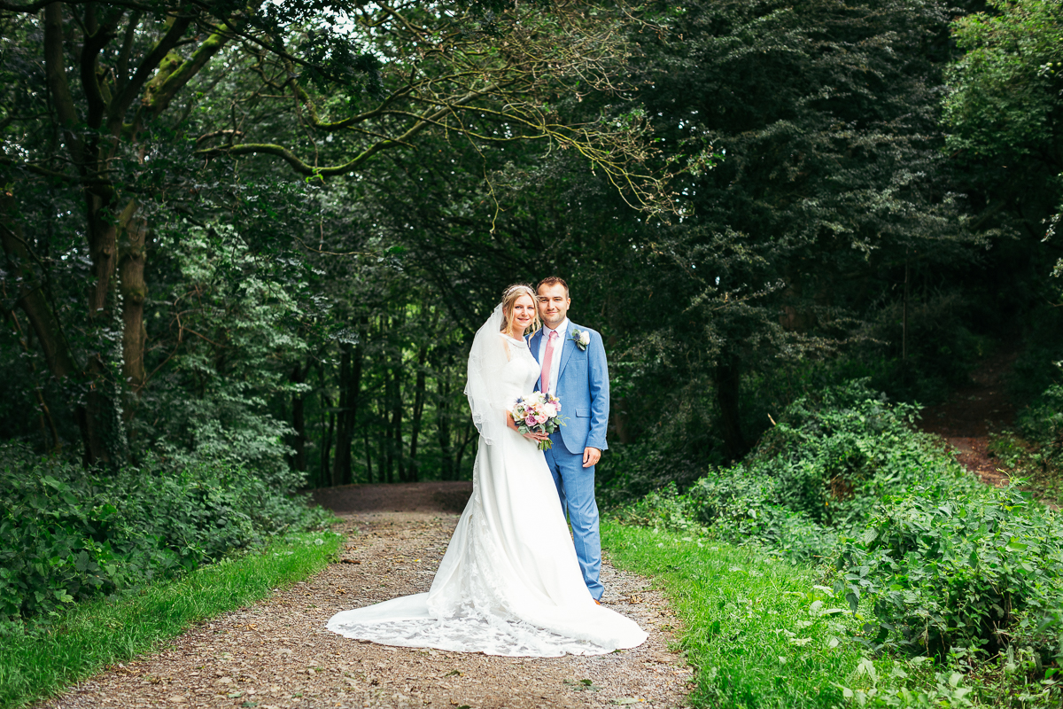 Spofforth village hall wedding photographer