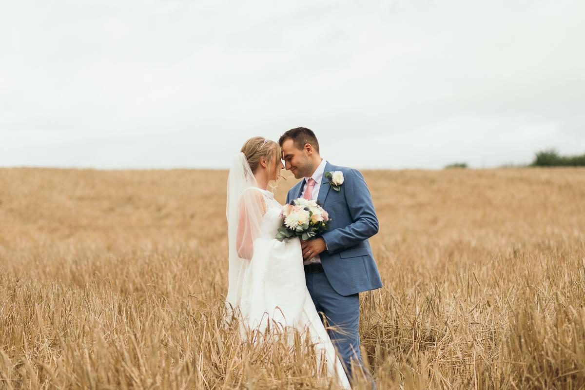 Spofforth village hall wedding photographer Amanda Manby