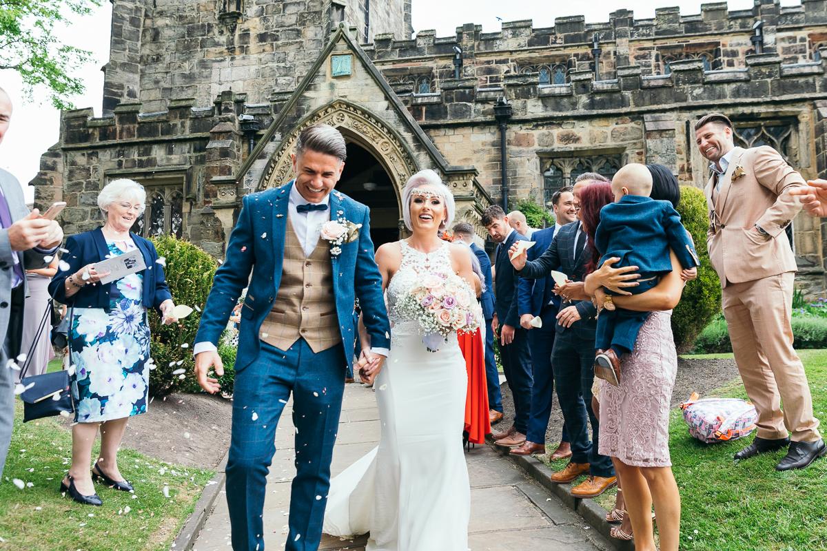 The Gamekeepers Inn Threshfield wedding