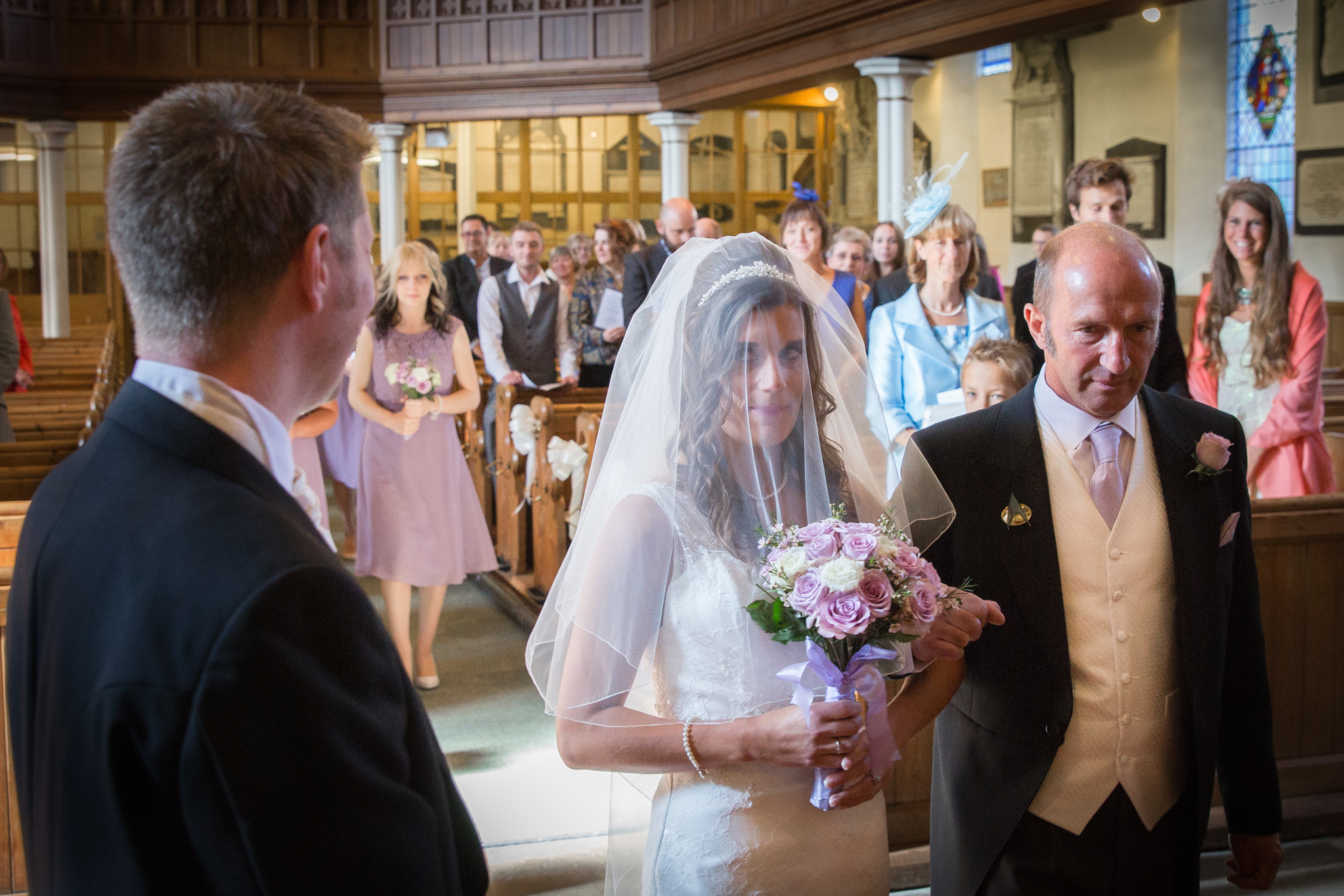 Kettlesing Village Hall wedding