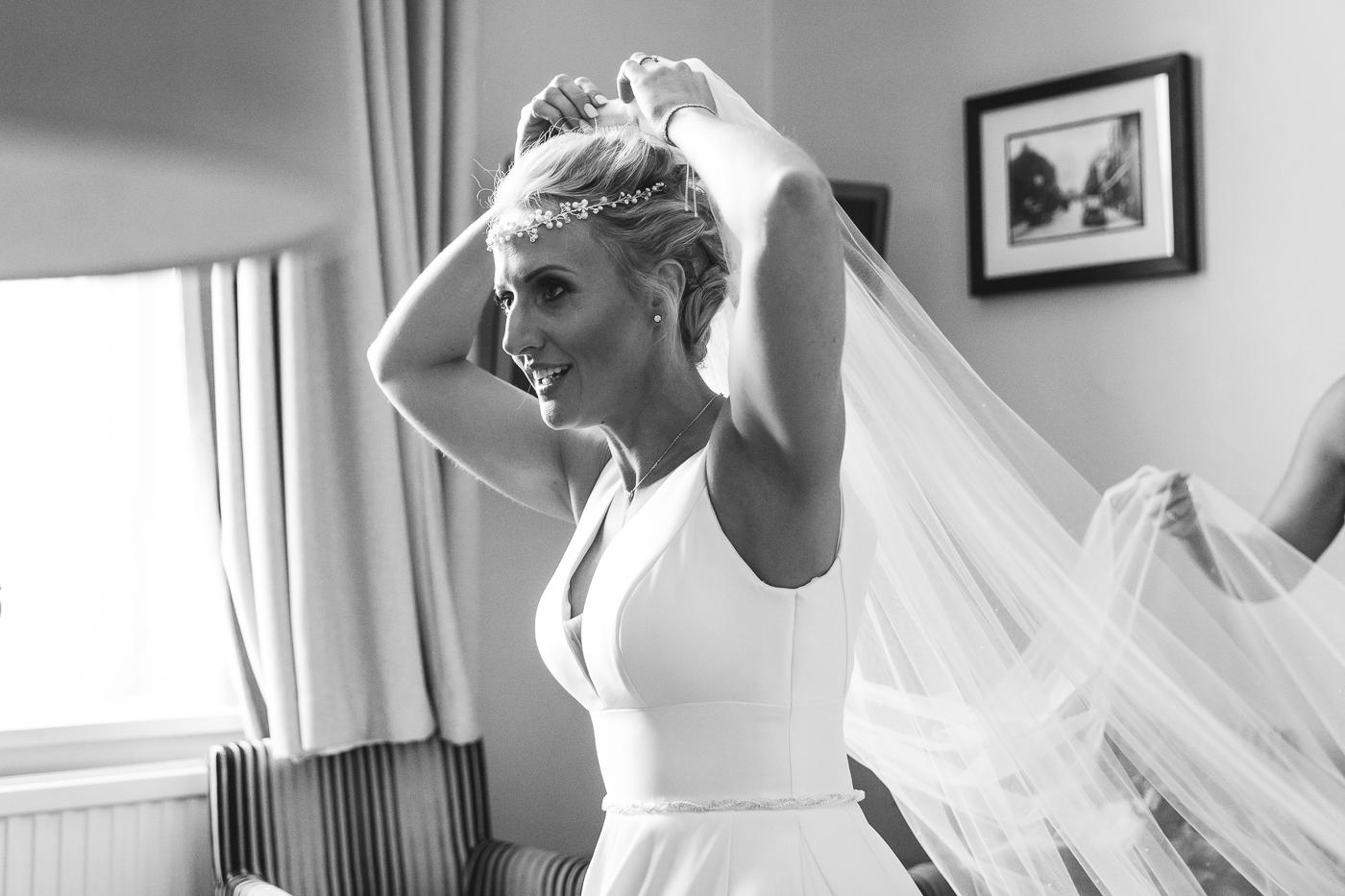 Crown hotel wedding photographer