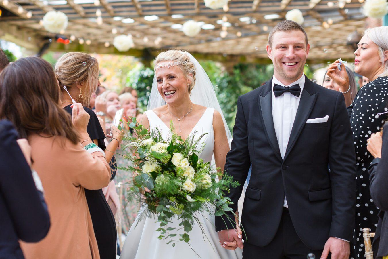 Sun Pavilion wedding harrogate Amanda manby