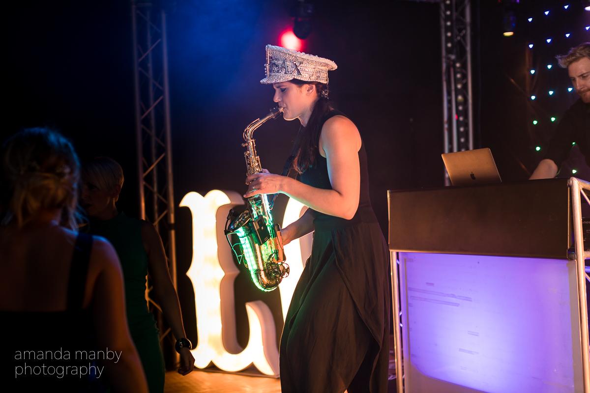 Ellie Sax wedding saxophonist Amanda Manby photography