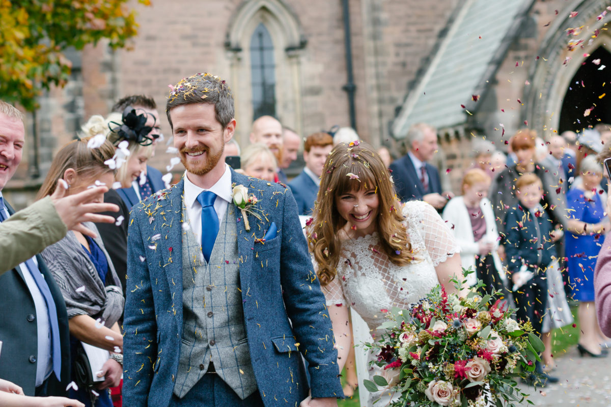 Wharfedale grange wedding st johns church wedding