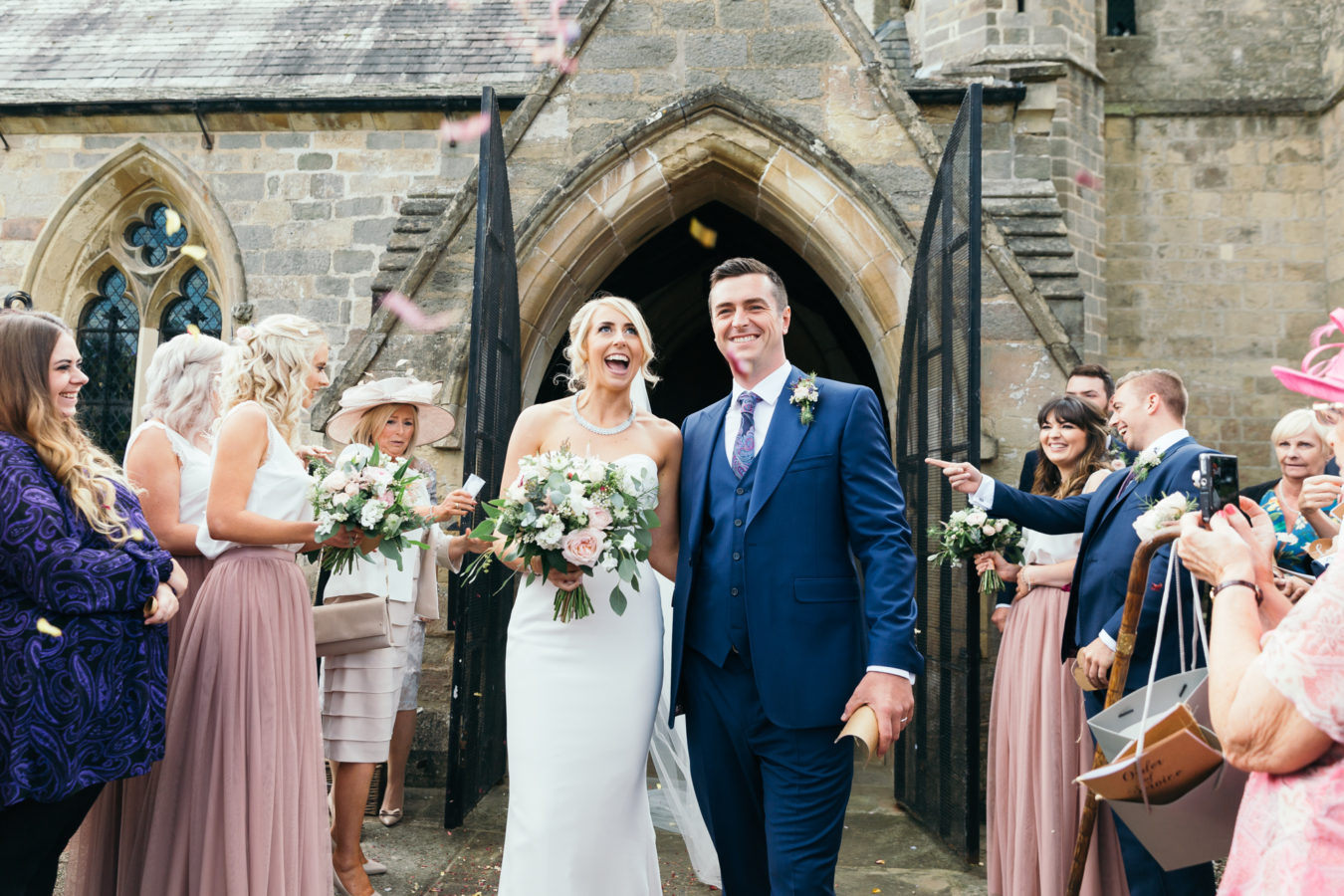 Goldsborough church wedding photographer