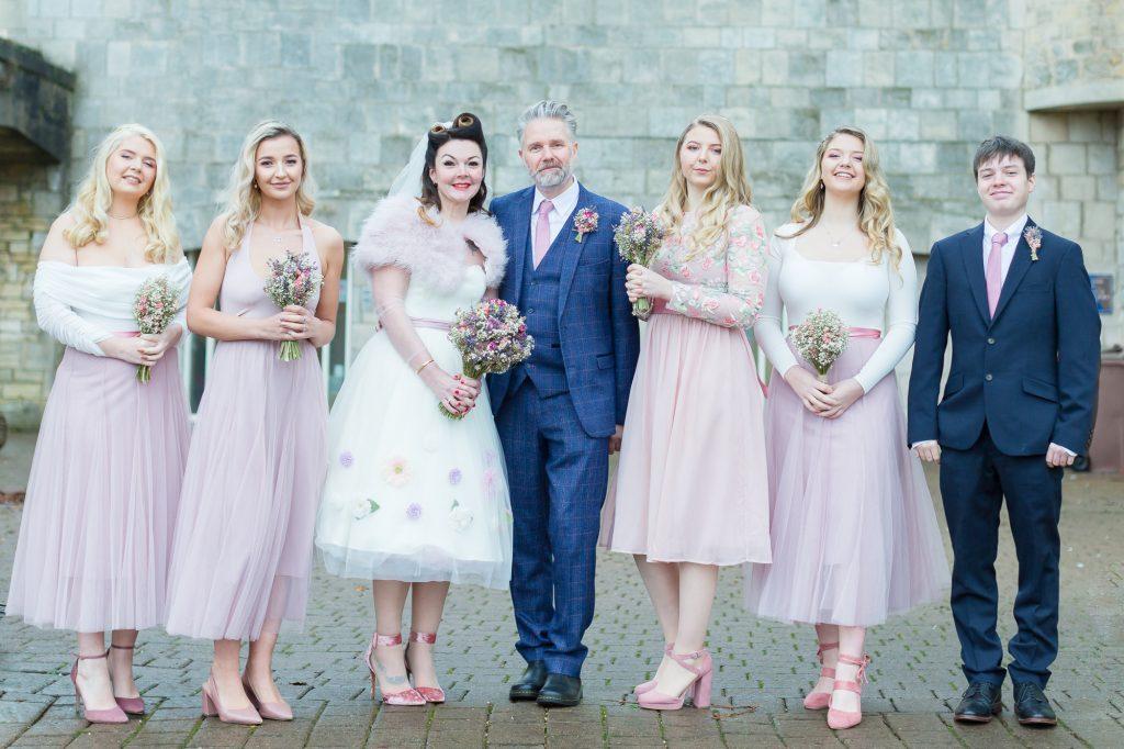 Hazelwood castle wedding